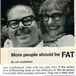 Lew and his wife Ann had fabulous taste in eyewear.